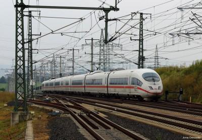 ICE na stacji Limburg Sud
