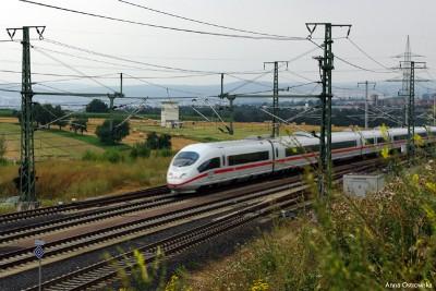 ICE na stacji Limburg