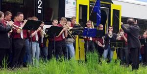 Opolski ekspres dęty w Osowcu (2010), fot. AO