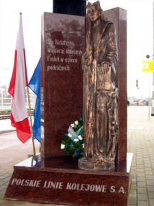 Brzeg - pomnik św. Katarzyny
