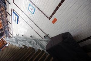 Brzeg - winda przyporęczowa na peron 2