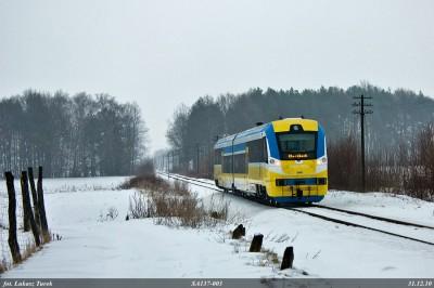 SA137 w okolicy p.o. Borkowice (fot. Łukasz Turek)
