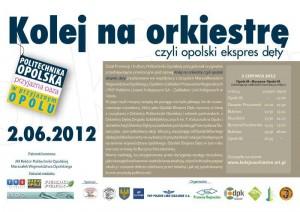 """Plakat """"Opolski Ekspres Dęty"""""""