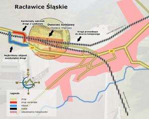 Plan Racławic Śląskich